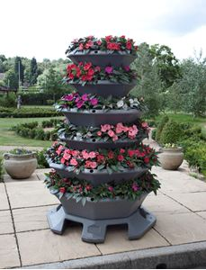 10 Location Ideas for Tower Planters